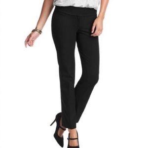 LOFT Marisa straight fit black pant